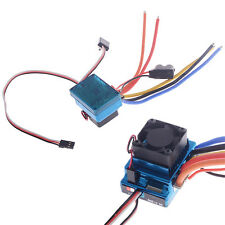 120A Sensored Brushless Speed Controller ESC for 1/8 1/10 Car Truck Buggy Motor