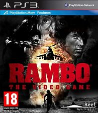 Rambo: The Video Game (Playstation 3 PS3, Action Video Game) Brand New Sealed