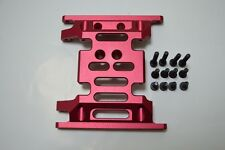 Aluminum Skid Plate Red For SCX10 II 2000 Jeep Cherokee RTR AX90047 Dhawk Racing