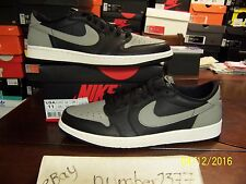 NEW Nike 2015 retro Air Jordan 1 low Shadow Grey size 11
