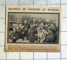 1915 Bombardier Terry Marries Miss Rose Wade At Cleethorpes