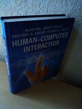 Human-Computer Interaction (3rd Edition), Prentice Hall, UK 2004
