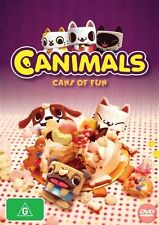 Canimals Cans Of Fun New DVD Movie Children Kids Rating G R4 BRAND NEW!