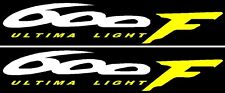 CBR 600F 600 F  Rear Fairing Tail Piece Decals Stickers Graphics