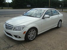 Mercedes-Benz: C-Class C300 4Matic AWD Salvage Rebuildable Repairable
