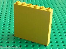 Mur jaune LEGO TRAIN Yellow brick 3754 / set 232 4554 6426 6337