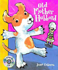 Old Mother Hubbard (Book & CD), Jane Cabrera, New Book