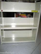 "Bretford Rolling Library Book Cart, 4""casters tilted shelves- Manf. discontinued"