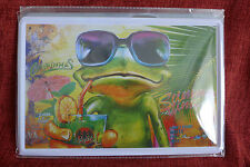 Summer Time Frog Metal Sign Painted Poster Comics Book Superhero Wall Decor Art