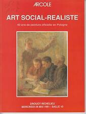 ART SOCIAL-REALISTE 1945-1985. 40 ans de peinture officiel en Pologne (1991)