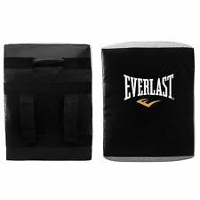 Everlast Curved Strike Shield Boxing Training Punch Pad Black/Grey Gym Fitness