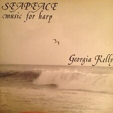 GEORGIA KELLY 'SEAPEACE' MUSIC FOR HARP  RARE LP IN NEW CONDITION HERU RECORDS