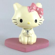 Hello Kitty Charmmy Kitty Ring Holder Figure Heart Pink Cute Sanrio From Japan