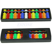 Arithmetic Plastic Chinese Abacus Soroban Colorful Beads Mathematics Calculate