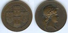 Médaille de table  - ORLEANS centenaire chambre de commerce 1803/1903 d=46mm