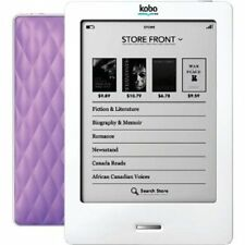"KOBO EREADER WI-FI (WIRELESS) 1 GB (6"" E INK SCREEN) - LILAC (QUILT DESIGN)"