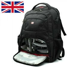 Swiss Gear Backpack DSLR SLR TLR Digital Camera Bag 16 inch Laptop Backpack--A