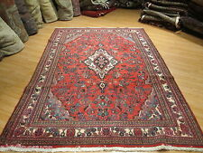 7x10 ESTATE PERSIAN Sarouk Vegetable Dye Hand-made-knotted Wool Rug 582014