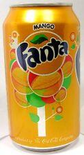 FULL New 12oz 355ml Can Coca-Cola's Fanta Mango Limited Edition USA 2015