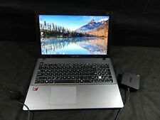 ASUS X550E AMD A4-5000 Radeon Graphics 1.5GHz 6GB 700GB TOUCH SCREEN LAPTOP