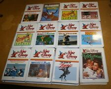 WALT DISNEY 34 BETA MAX MOVIE LOT FREE SHIPPING