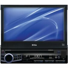 "Boss Bv9973 Car Dvd Player - 7"" Touchscreen Lcd - Single Din - Dvd Video, Video"