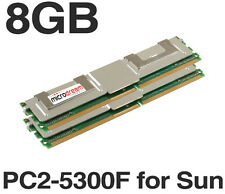 8GB (2x4GB) MT36GTF51272FY-667E2D6 DDR2 1.5V PC2-5300F for Sun