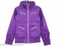 BURTON DRY RIDE LUSH Women S Black Cherry Purple Cross Country Ski Parka Jacket