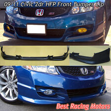 HFP Style Front Lip (Urethane) Fits 09-11 Honda Civic 2dr