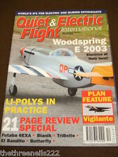 QUIET & ELECTRIC FLIGHT INTERNATIONAL - WOODSPRING E2003 - DEC 2003