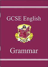 CGP GCSE ENGLISH GRAMMAR THE STUDY GUIDE KS4 VERBS PUNCTUATION PARAGRAPHS