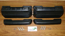 Arm Rest Kit Black Pad Base Bolts Screws **In Stock!**