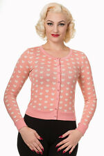 Banned Apparel - Women's Sudden Sky Rose Rockabilly Cardigan 50s  Small UK 10