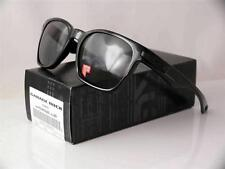 OAKLEY POLARIZED GARAGE ROCK POLISHED BLACK FRAME GREY LENSES 009175-07 NEW