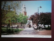 POSTCARD LEICESTERSHIRE LEICESTER TOWN HALL SQUARE