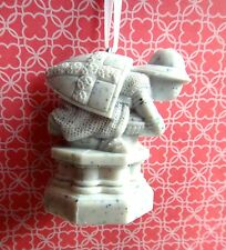Harry Potter Custom Christmas Ornament - White Pawn from Wizard's Chess