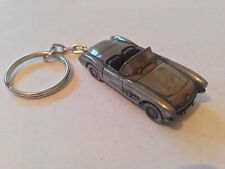 Chevrolet Corvette circa 1957 ref36 3D split-ring keyring FULL CAR