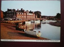 POSTCARD NORFOLK BLAKENEY - VIEW OVER HARBOUR