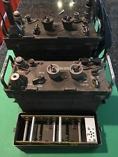 2 Sets (pr) PRC-77 Military Transceivers with Extras