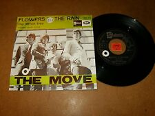 THE MOVE - FLOWERS IN THE RAIN - THE LEMON TREE - 45 PS / LISTEN - PSYCH ROCK