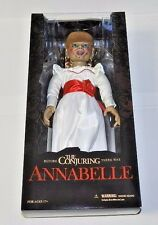 THE CONJURING ANNABELLE MEZCO TOYS 18 INCHES BRAND NEW FACTORY SEALED IN BOX