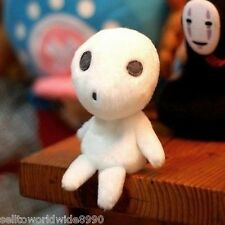 1 x Anime Princess Mononoke Kodama Tree Spirit Plush Toy Soft Stuffed Doll 12cm
