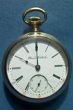 1904 Illinois 17j, Sz.18s Antique Pocket Watch,Gold Filled Good Runner