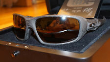 NEW RARE OAKLEY 93/250 C SIX Carbon Fiber/Tungsten Irid Polarized OO4047-02