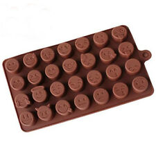 New Arrival Emoji Expression Silicone Mold For Cake Chocolates Candy Ice Baking