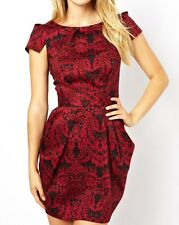 "ABITO donna kleid party cerimonia ""miss denny guess what?""coll. black rose TG. S"