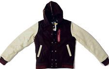 Brand New Nike Sportswear Women's Destroyer Jacket Wool Leather NSW M $300