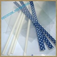 "25pcs X (6"" Lollipop Sticks + Bags + Twist Ties) for cake pops Lollipop Candy"