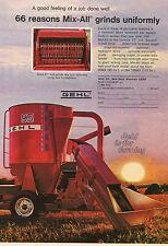 1974 GEHL Mix-All 95 Grain Mixer Print Ad