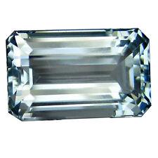Natural Aquamarine 5.39Cts Sky Blue  Color Octagon Shape Loose Gemstone
